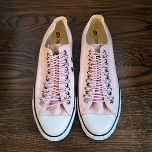 Converse Pink Unisex Laceup Sneaker 9M / 11W